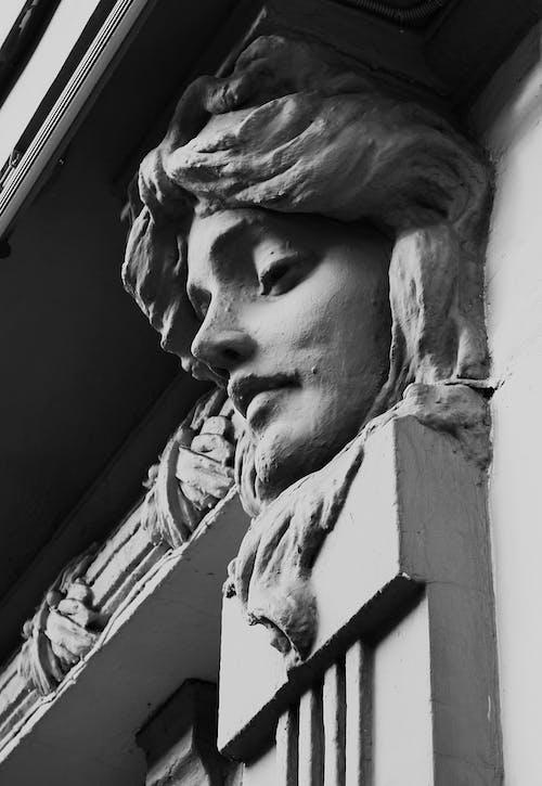 Kostnadsfri bild av ansikte, ansiktshår, arkitektur
