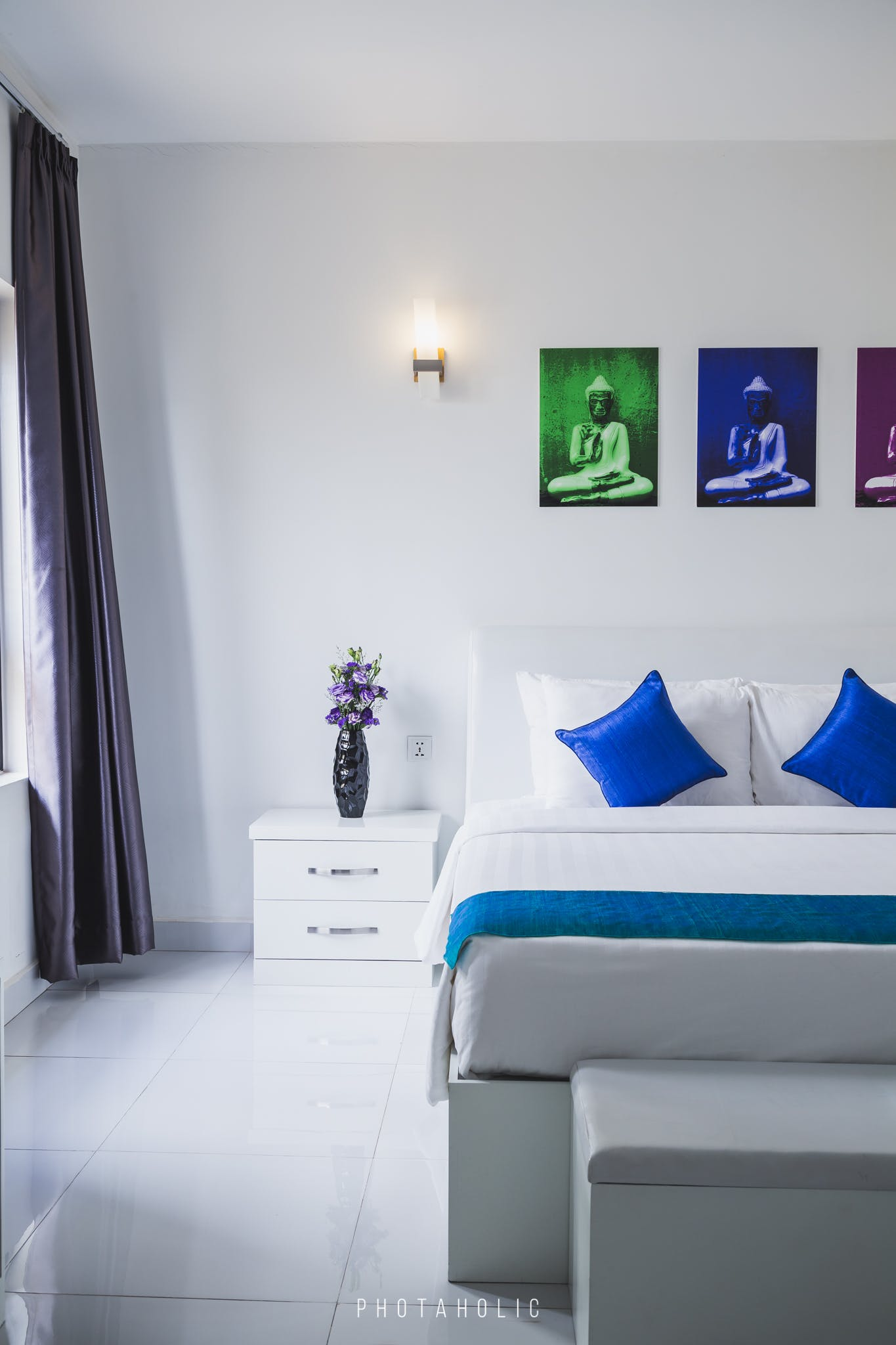 bedroom, decoration, hotels