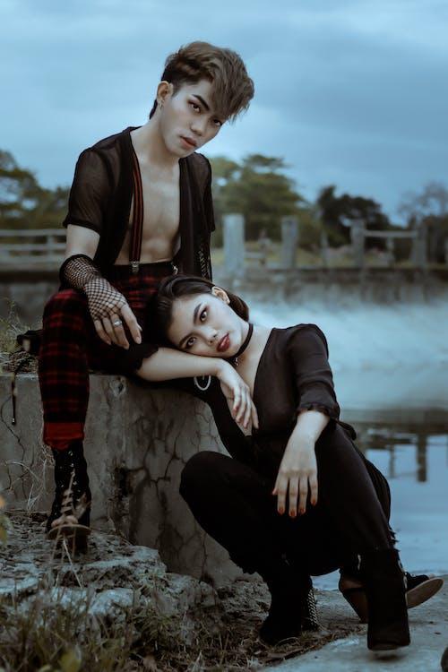Kostenloses Stock Foto zu draußen, erwachsener, fashion
