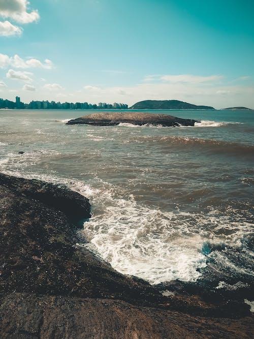 Free stock photo of beach, blue ocean, blue sea
