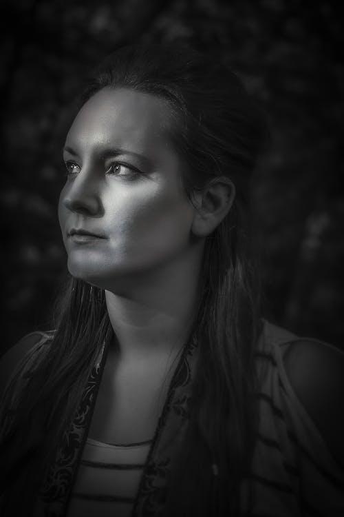 คลังภาพถ่ายฟรี ของ การถ่ายภาพระดับสีเทา, ขน, ขาวดำ