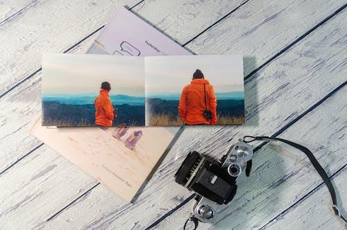Free stock photo of 35mm film, nikon camera, photobook