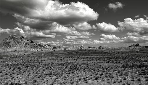 Ingyenes stockfotó ég, farm, fekete-fehér, felhők témában