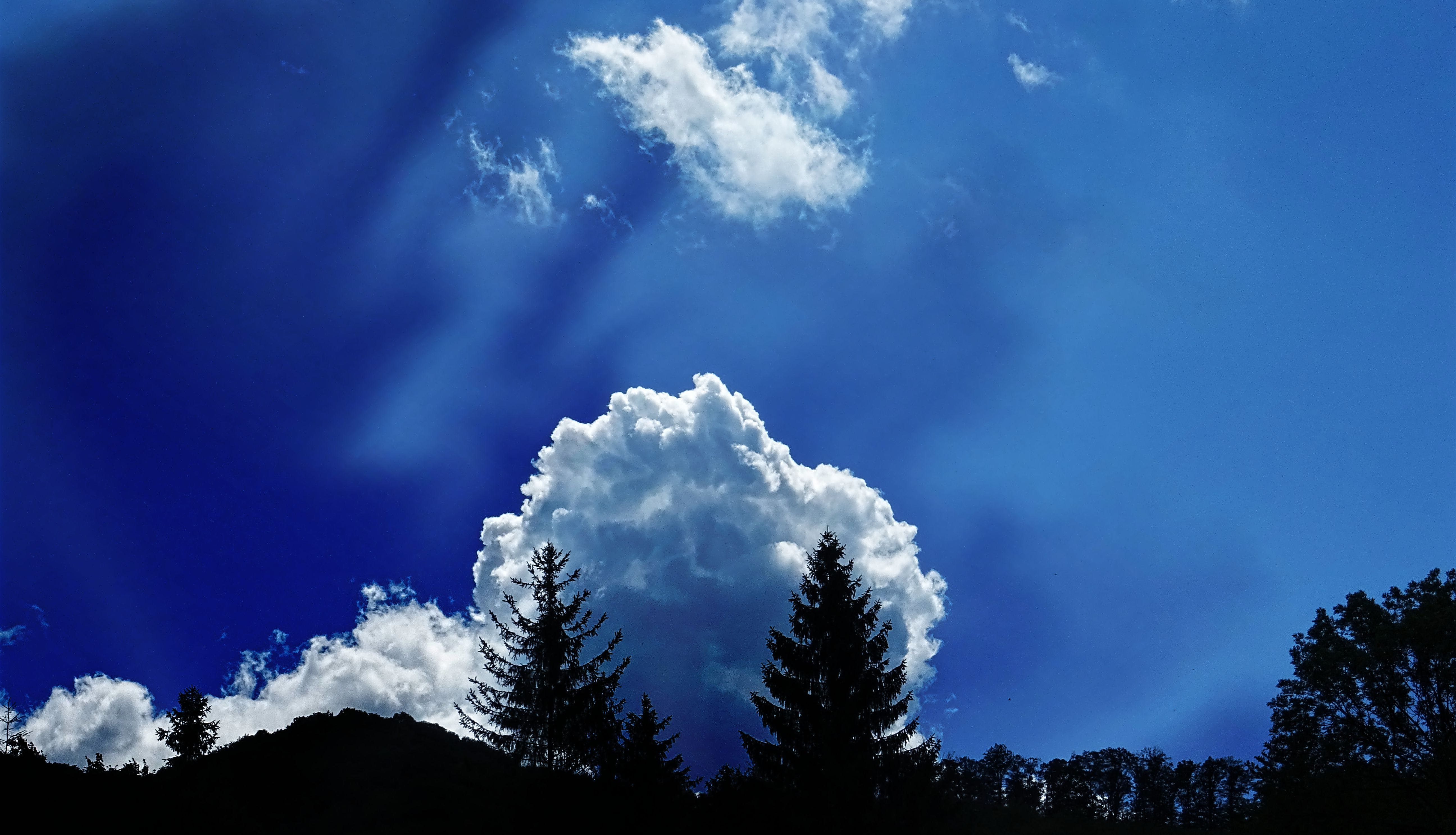 Scenic View of Clouds