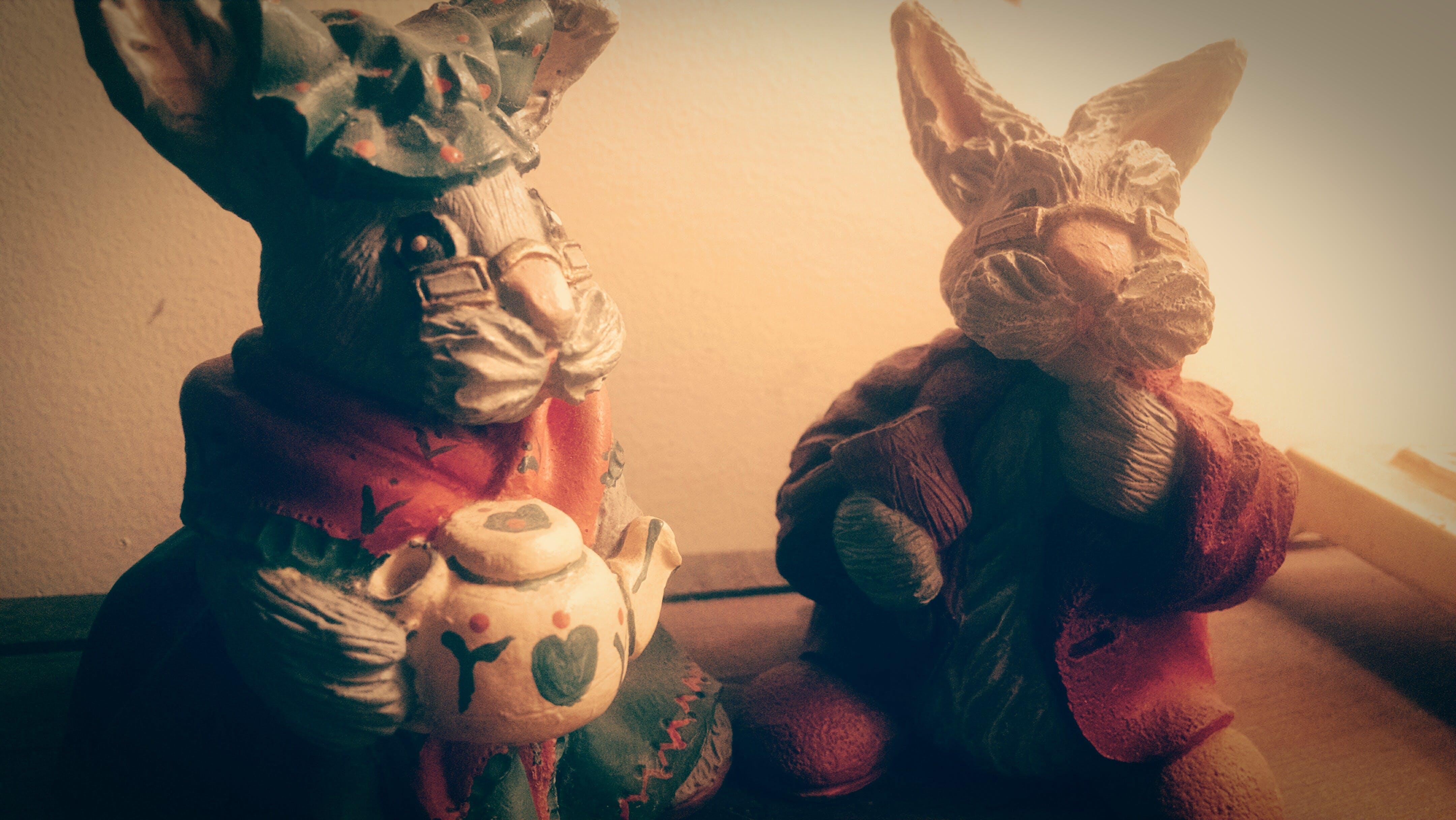 Free stock photo of rabbit, bunny, figurines