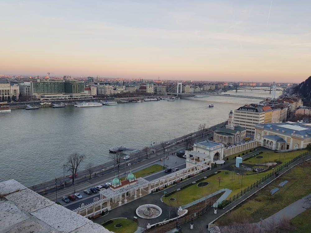 Budapest, danube river, nature