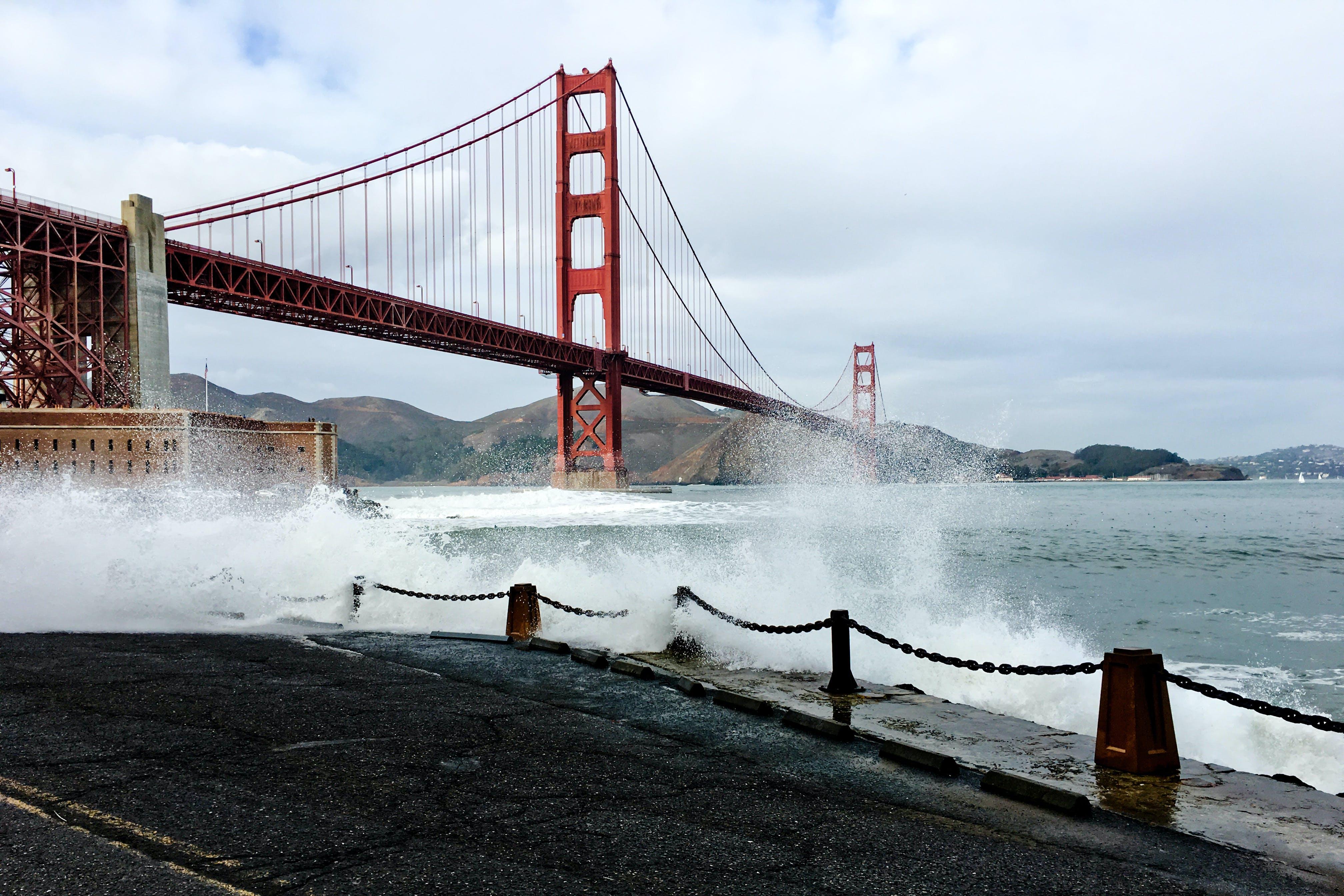 Architectural Photography of Golden Gate Bridge, San Francisco