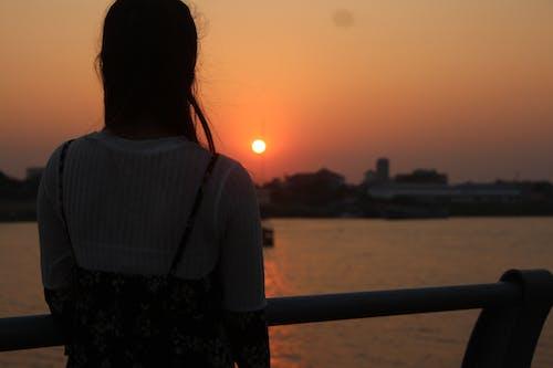 Free stock photo of beautiful sunset, landscape, sunset