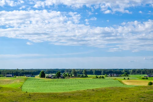 Free stock photo of clouds, cloudscape, fields, lithuania