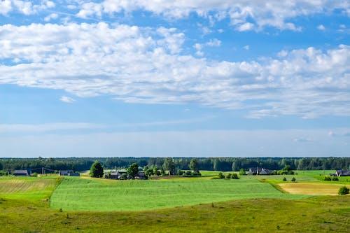 คลังภาพถ่ายฟรี ของ ทิวทัศน์เมฆ, ทุ่งโล่ง, ธรรมชาติ, ประเทศลิธัวเนีย