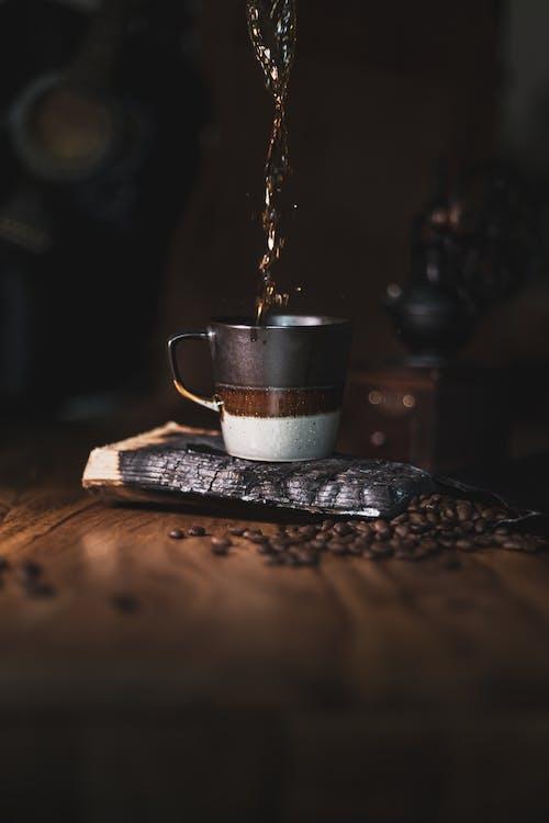 エスプレッソ, お茶, カップの無料の写真素材