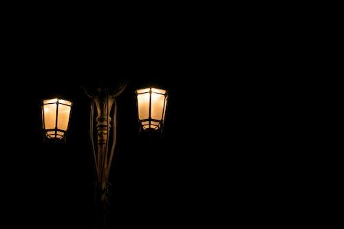 Free stock photo of dark, lamp, light