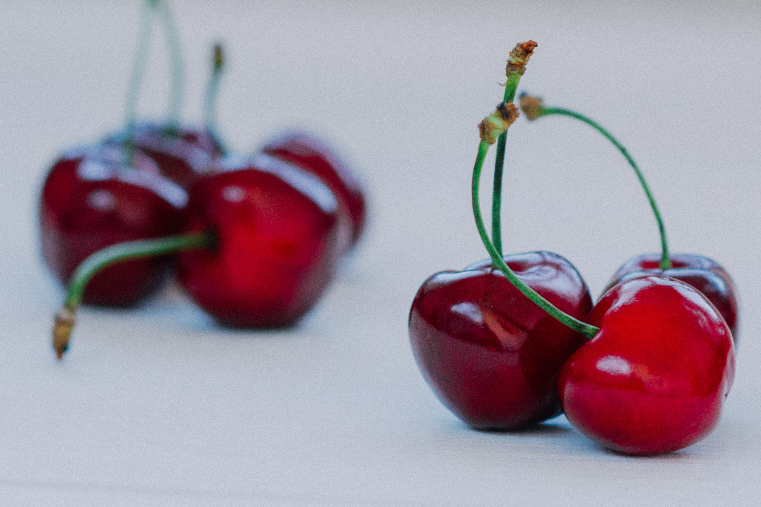 Seven Red Cherries