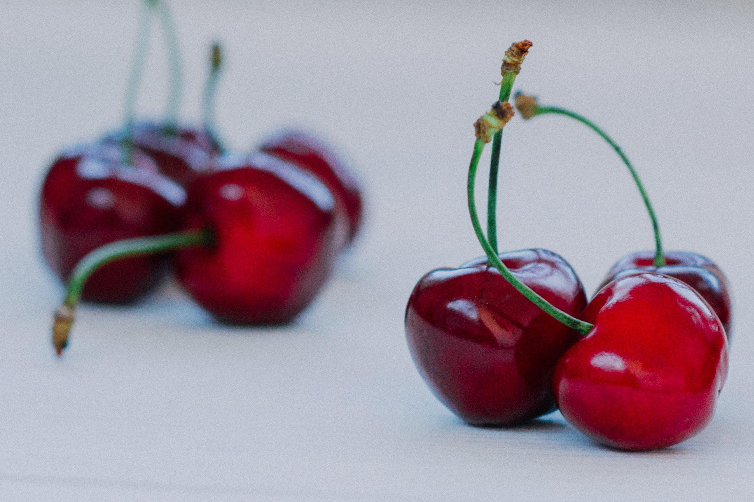 Seven Red Cherries