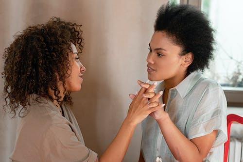 Photos gratuites de afro, amour, beauté