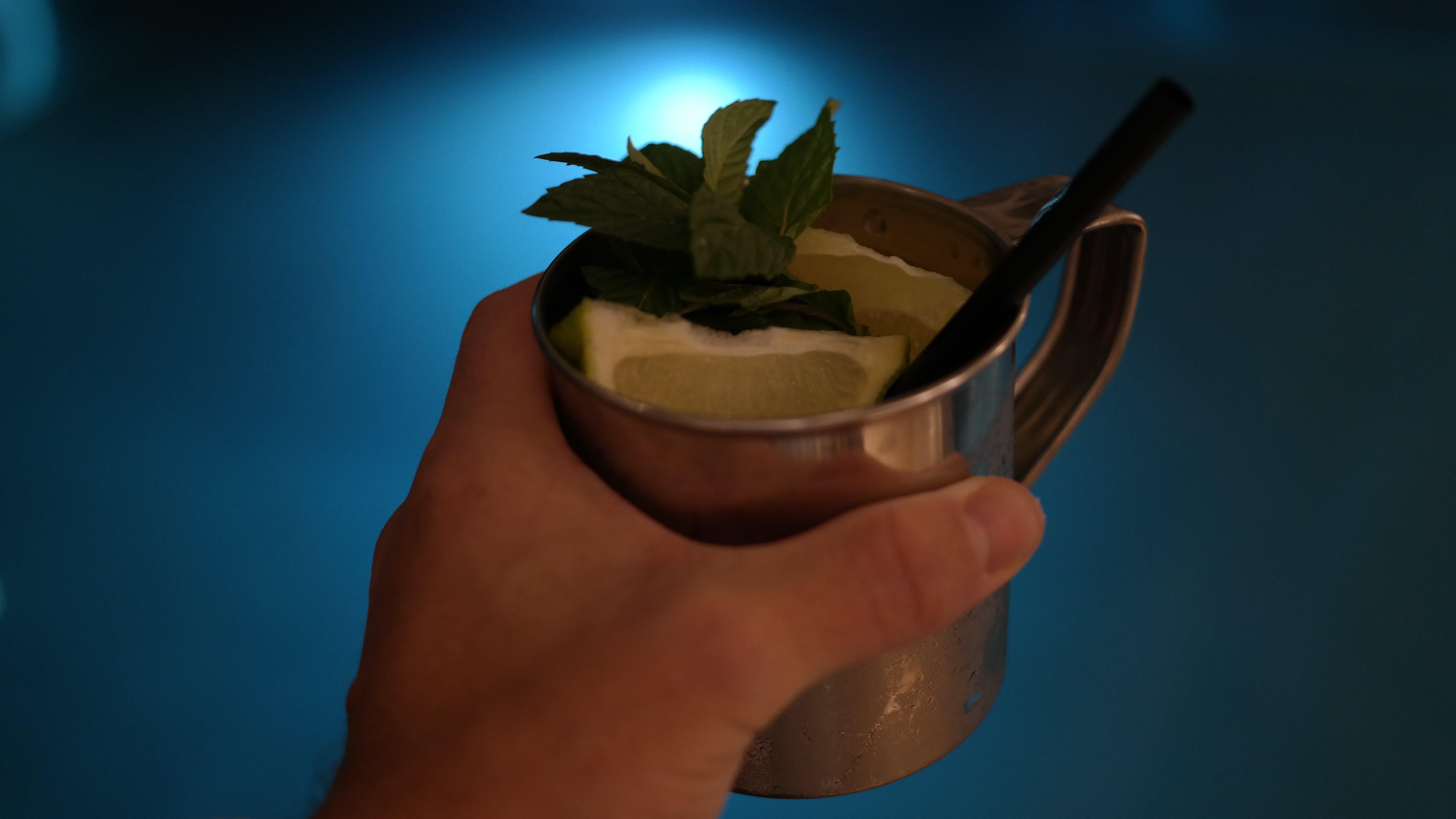 Free stock photo of cocktail, drink, longdrink, mule