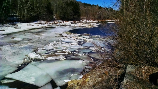 Free stock photo of winter, ice, spring, river