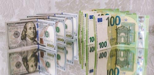 Free stock photo of 20 euro, 200 euro, atm