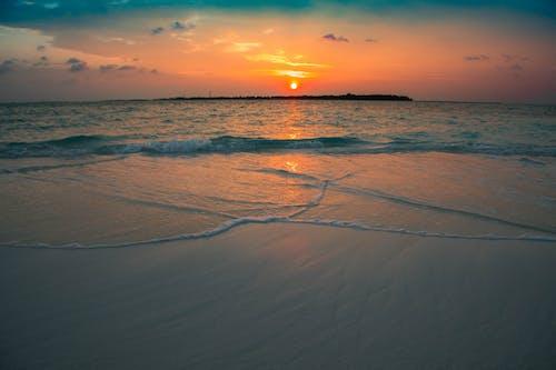 Photos gratuites de aube, calme, ciel, ciel bleu