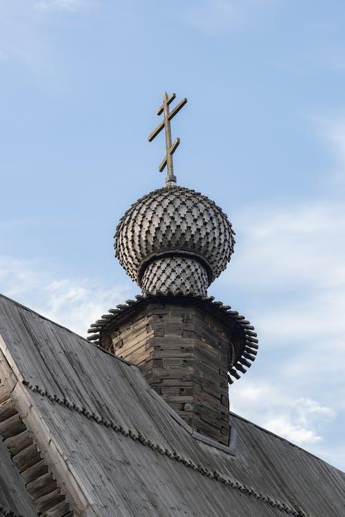 Základová fotografie zdarma na téma architektonické detaily, církev, kříž