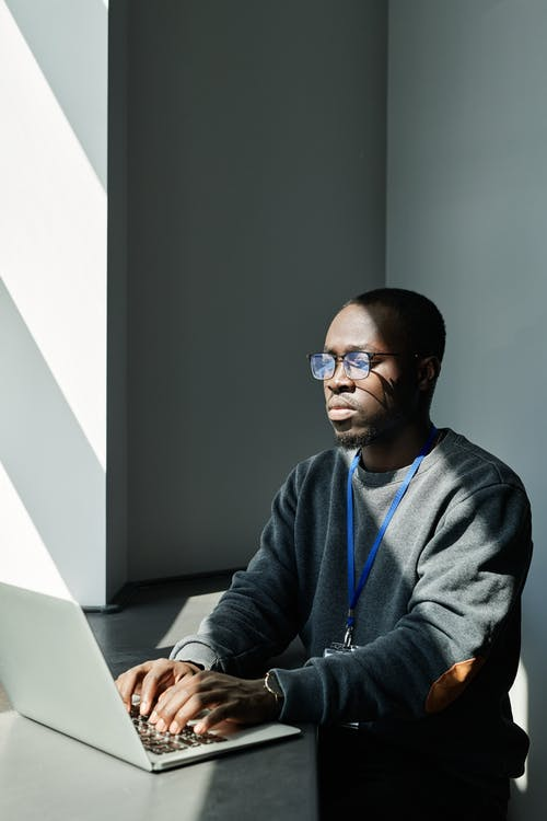 Free stock photo of adult, african american guy, against the light