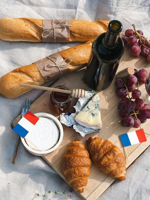 Gratis lagerfoto af baguetter, bastille dag, brød