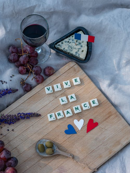 Brown Wooden Board With I Love You Print