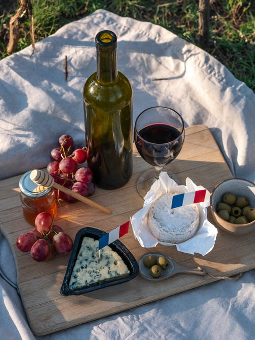 Free stock photo of bastille day, bastille day picnic, blue cheese
