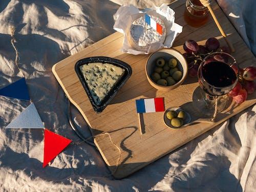 Free stock photo of bastille day, bastille day picnic, bottle of wine