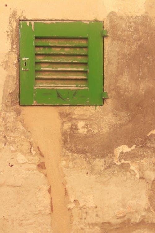 Kostenloses Stock Foto zu braun, fenster, gestrichen