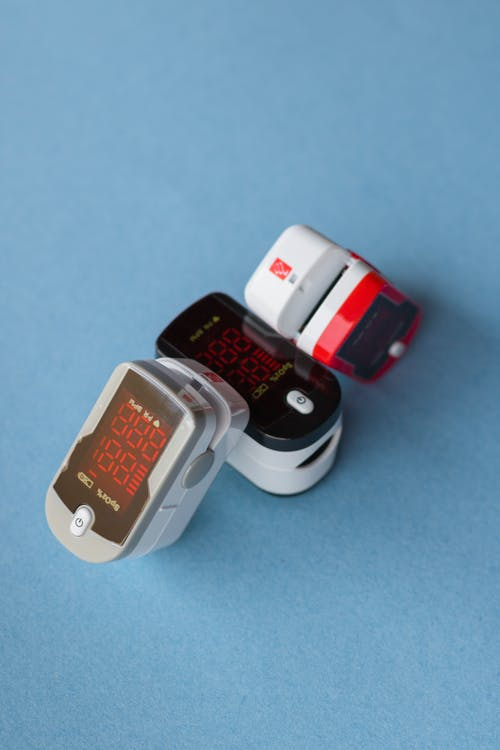 White and Red Smart Watch