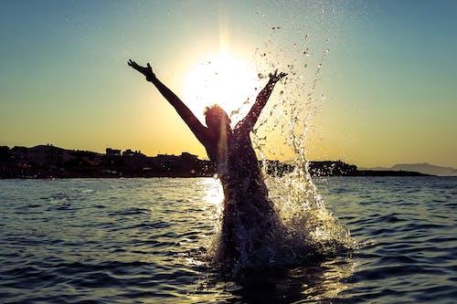 假日, 喜悅, 地中海, 太陽 的 免費圖庫相片