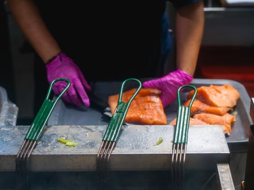 Free stock photo of catch of fish, cooking, cuisine