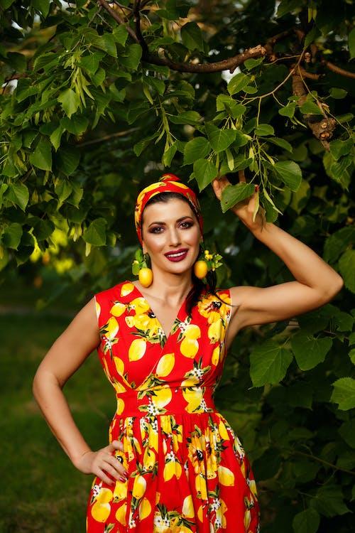 Free stock photo of beautiful, dress, fall