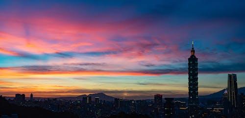 Immagine gratuita di cielo, colori, nuvole