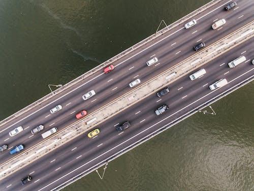 Free stock photo of aerial, background, bridge