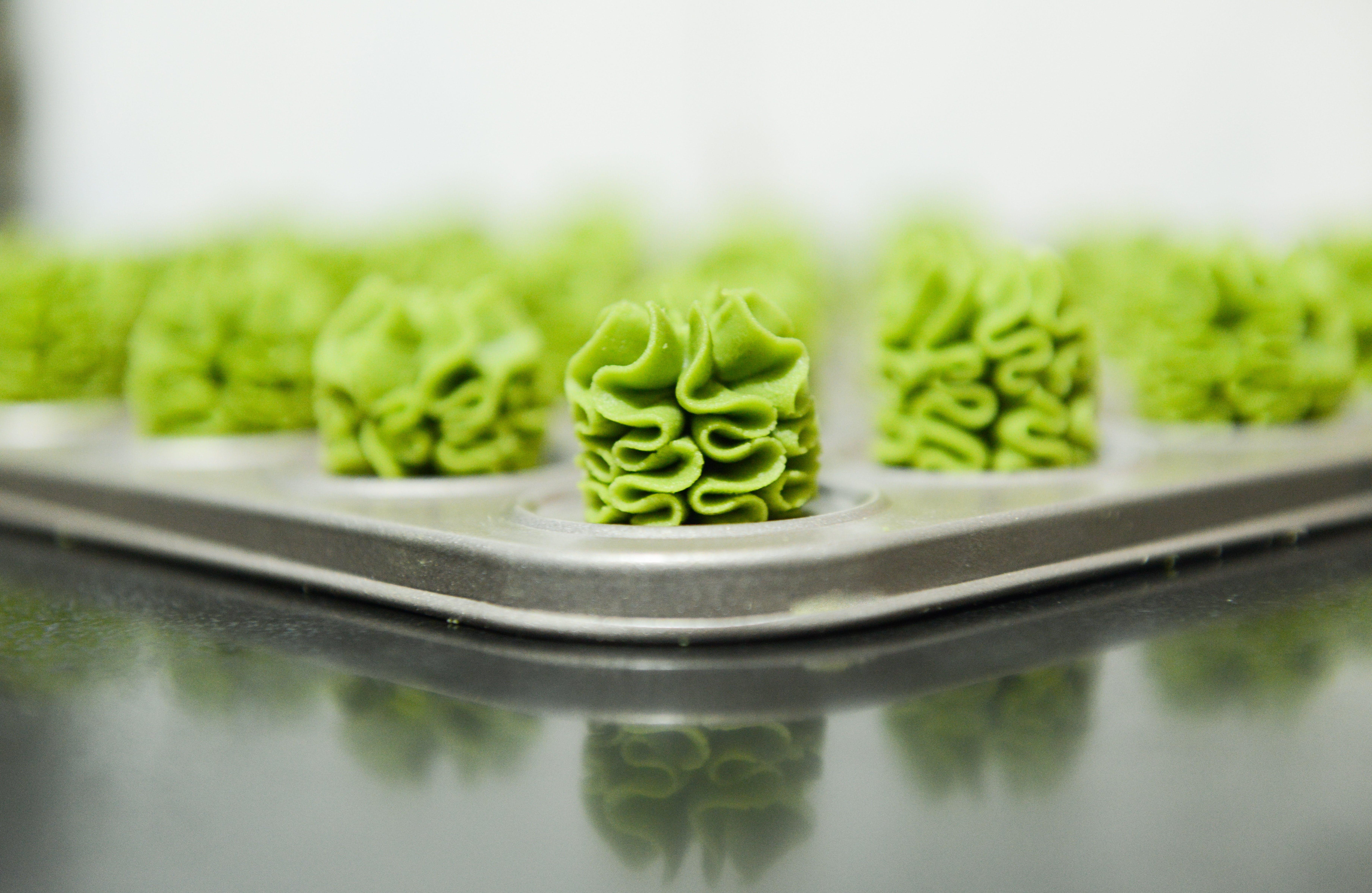 Kostenloses Stock Foto zu kaffee, grün, cookie, matcha