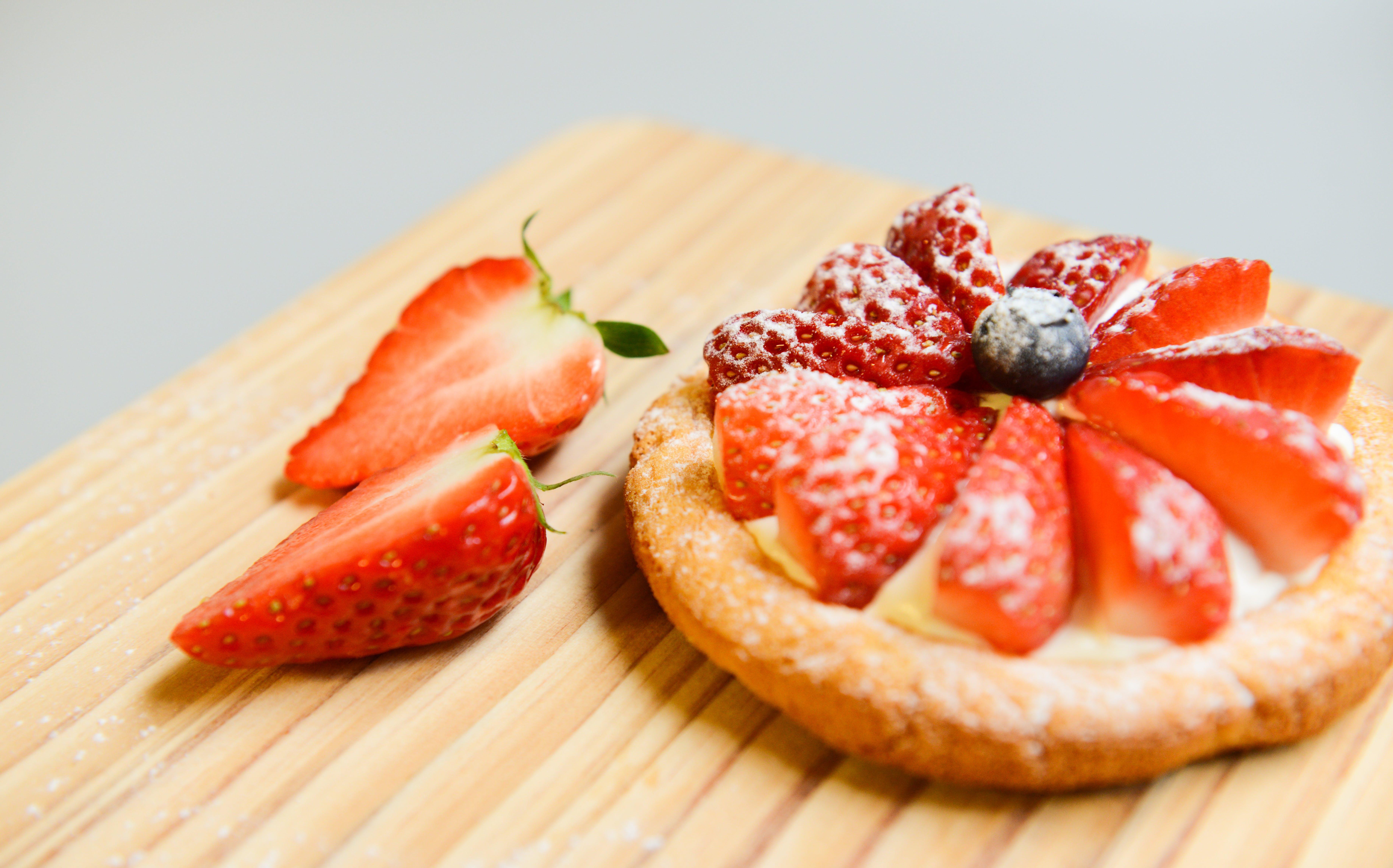 Gratis lagerfoto af bagt, blackberry, brød, close-up