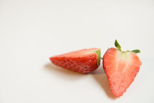 Free stock photo of cake, strawberry