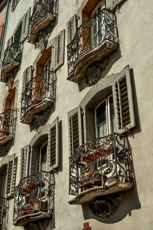 Photos gratuites de balcon