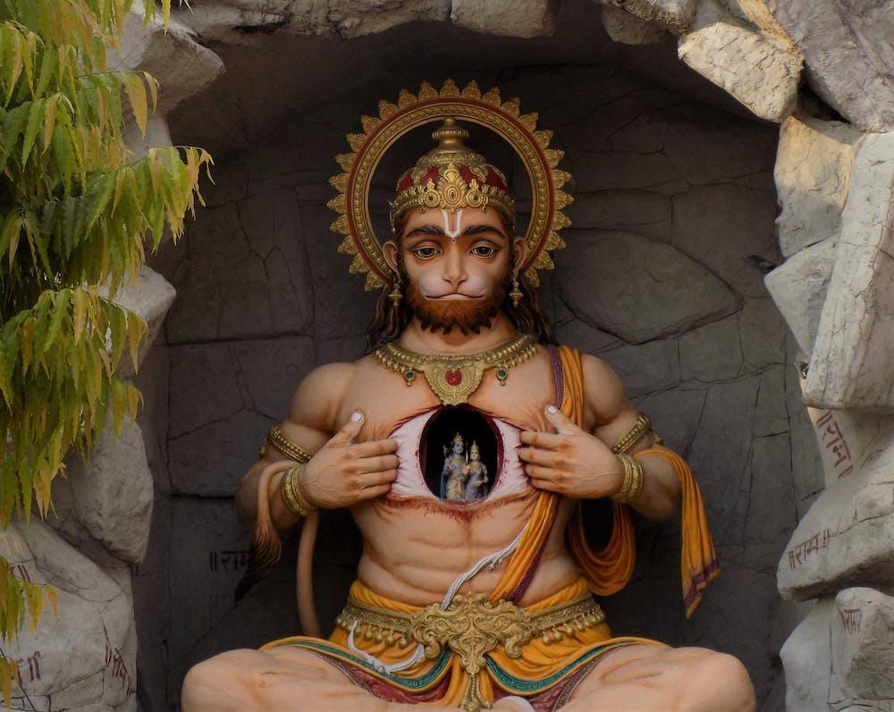 Lord Hanuman Photo by Rishu Bhosale from Pexels