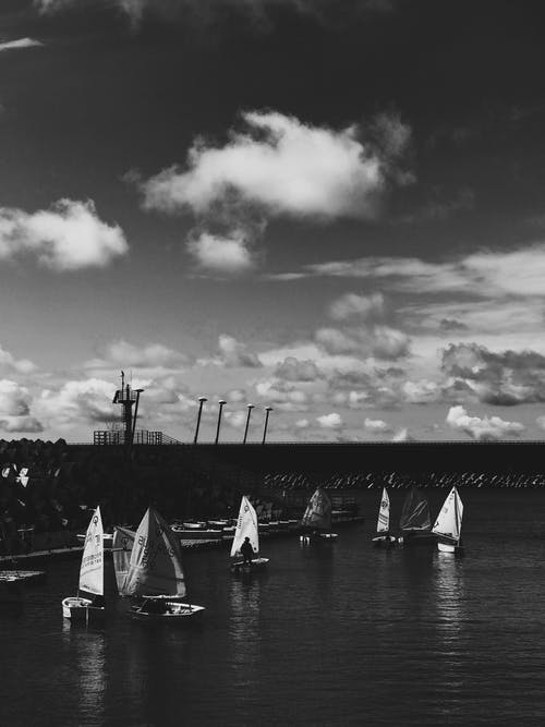 Free stock photo of black and white, black and white photography, black sea