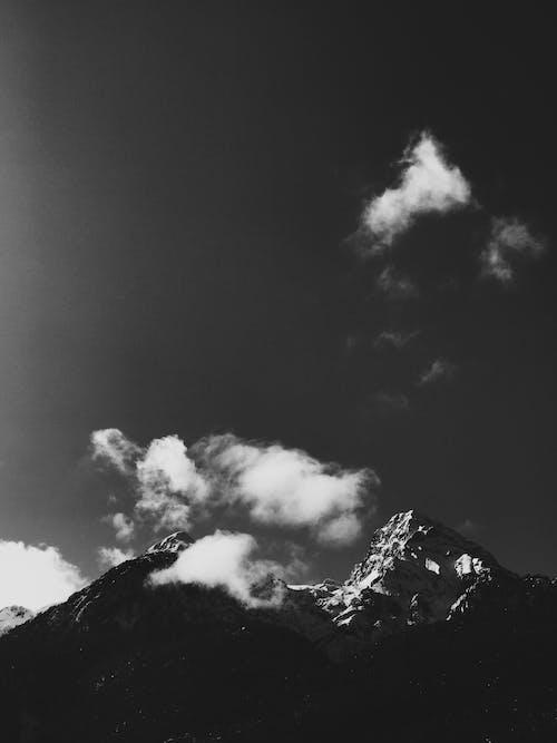 Free stock photo of black and white, black and white photography, dark