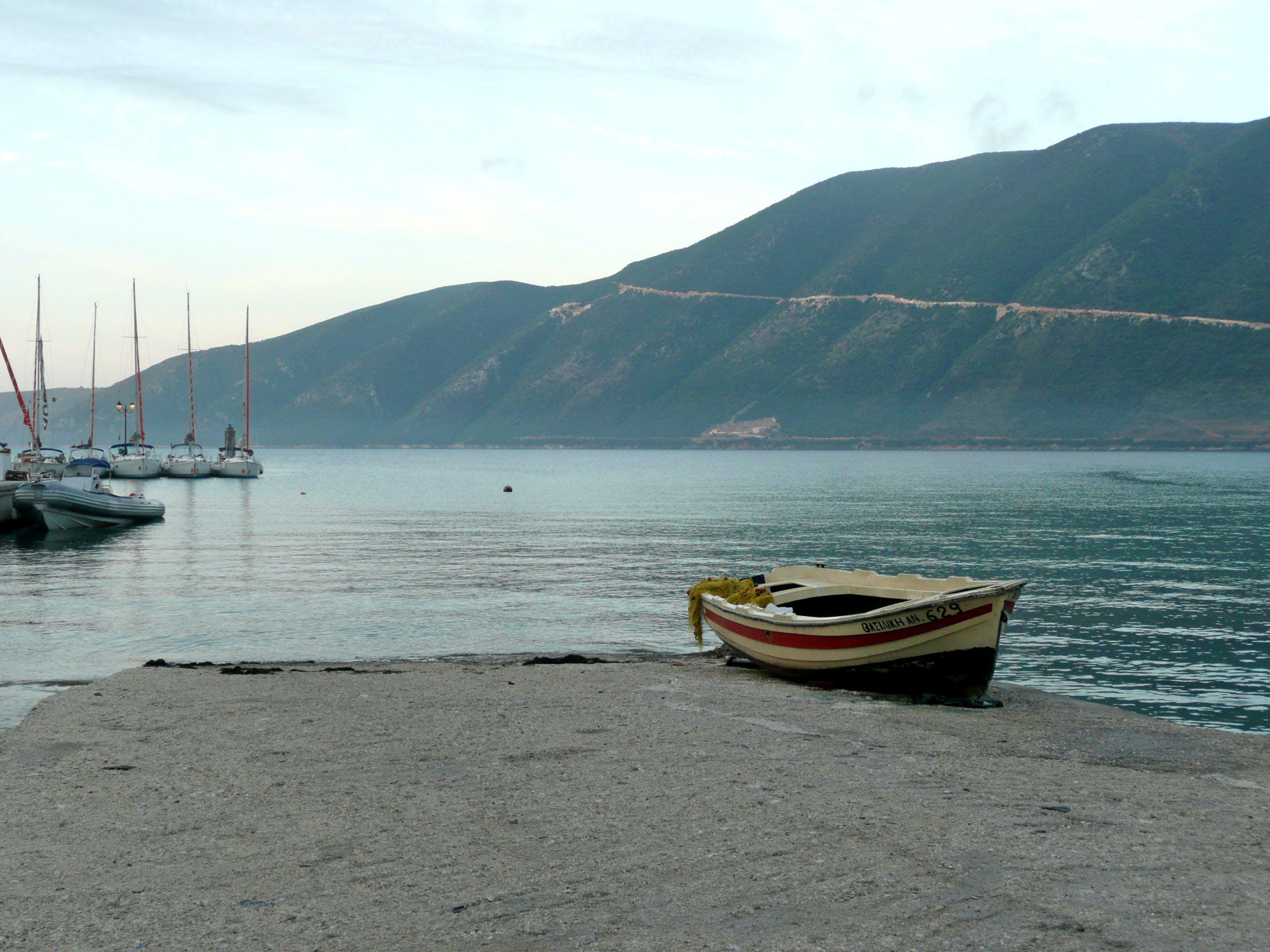 Free stock photo of sea, boat, coast, shore