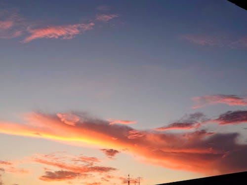夕照, 彩霞, 户外 的 免费素材图片