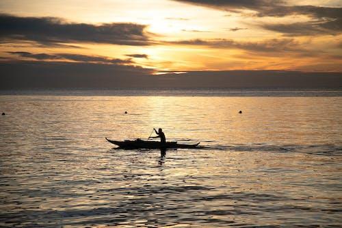 Základová fotografie zdarma na téma člun, jezero, léto