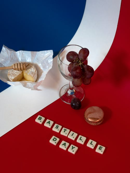 Immagine gratuita di amore, articoli di vetro, bandiera della francia