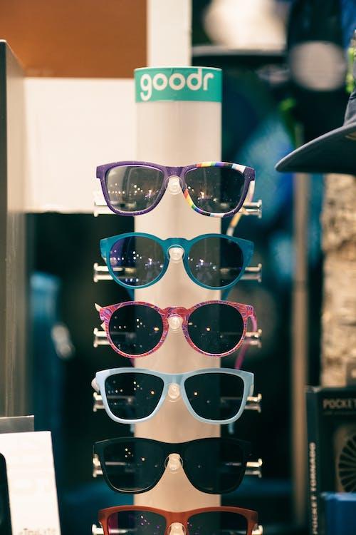 Kostenloses Stock Foto zu brille, brillen, draußen