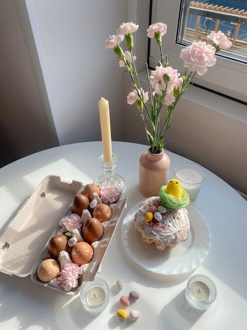 Free stock photo of bouquet, chocolate, coffee