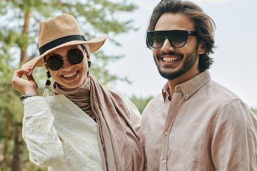 Free stock photo of happiness, love, muslim couple